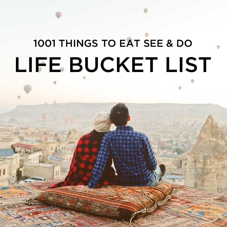 1001 Amazing Things to Do - Ultimate Life Bucket List // localadventurer.com