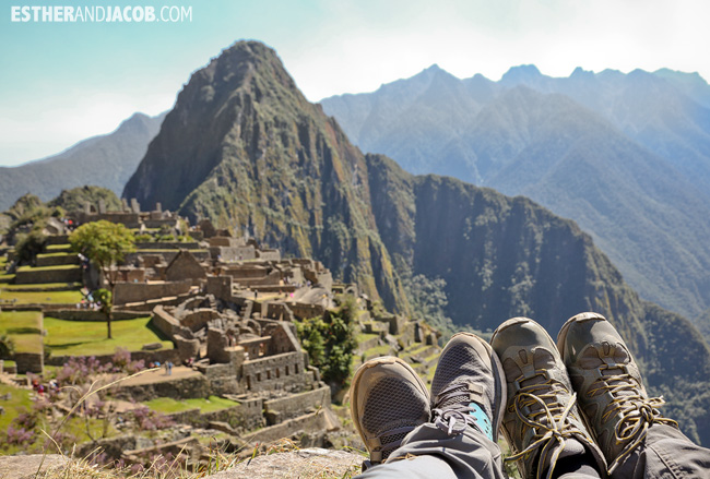 Machu Picchu Peru South America – We Made It!