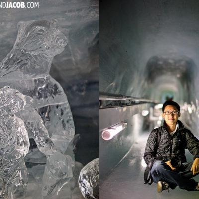 Jungfraujoch ice tunnel switzerland travel photography