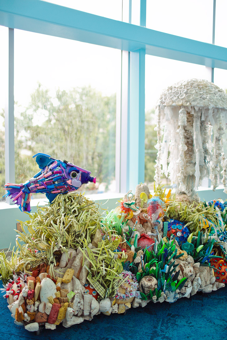 Washed Ashore Exhibit at the Georgia Aquarium in Atlanta // localadventurer.com