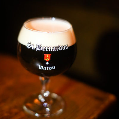 st. bernardus abt. 12 at brickstore pub downtown decatur | tourists at home atlanta edition
