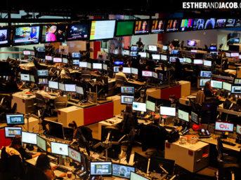 CNN Center Studio Tour | Tourists at Home Atlanta Edition