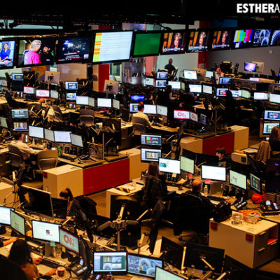 CNN Center Studio Tour | Tourists at Home Atlanta Edition