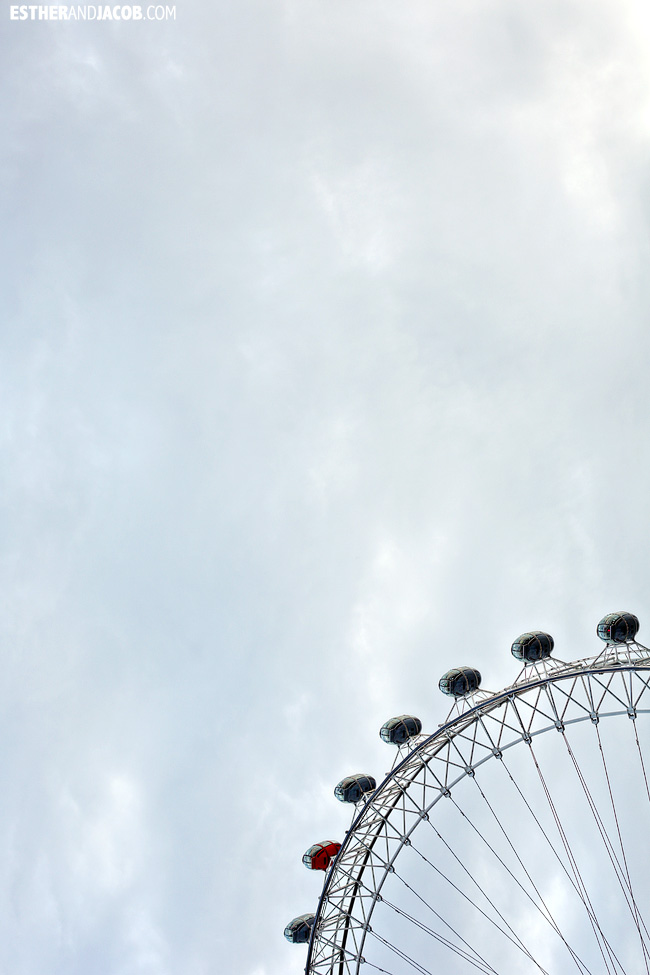 edf energy orange pod london eye | London Attraction | Photography London | What to Do in London England