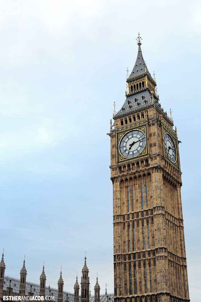 Big Ben Elizabeth Tower London England | What to Do in London