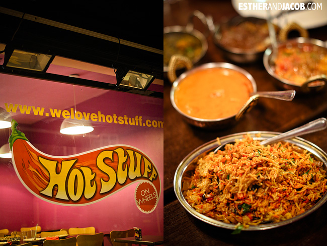 Hot Stuff on Wheels | Indian Restaurants in London | Best London Restaurants | Where to eat London