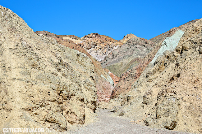 DeathValley National Park: Artist's Palette. Death Valley Pictures.