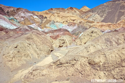 DeathValley: Artist's Palette, Photo of Death Valley