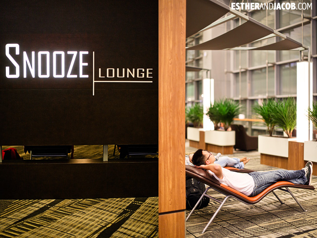 Singapore Changi Airport Snooze Lounge | What to do in Singapore