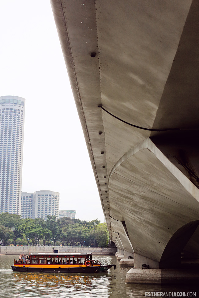 Bridge at Merlion Park | What to do in Singapore