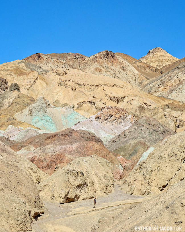 DeathValley National Park: Artist's Palette.