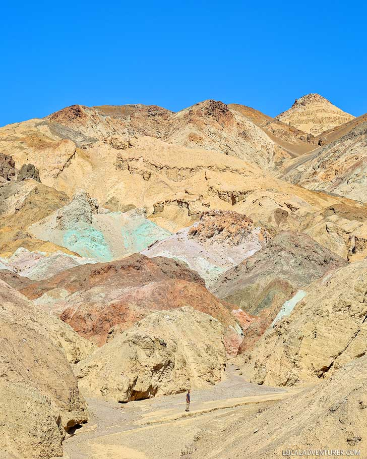 Artists Palette (9 Incredible Things to Do in Death Valley National Park California) // localadventurer.com