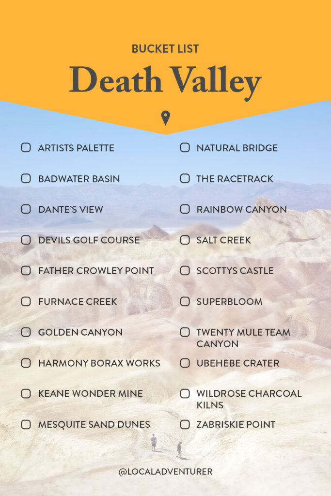 Top Death Valley Attractions You Can't Miss
