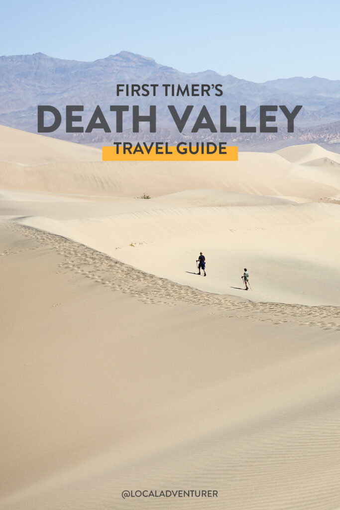 First Timer's Guide to Death Valley CA
