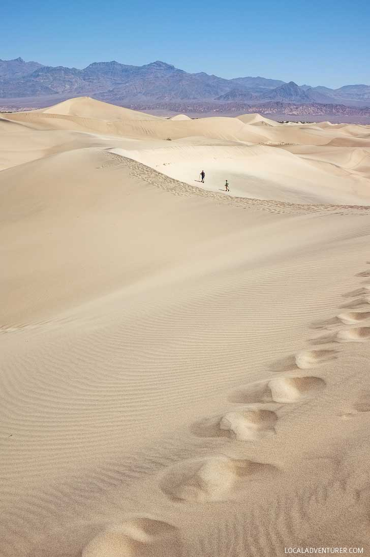Mesquite Flats (9 Incredible Things to Do in Death Valley National Park California) // localadventurer.com