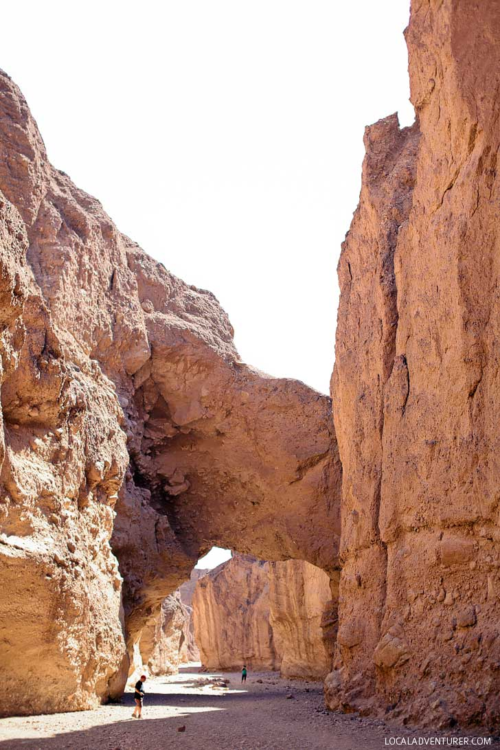 Natural Bridge (9 Incredible Things to Do in Death Valley National Park California) // localadventurer.com