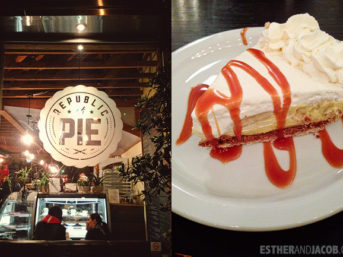 Eating LA. What we ate in may. republic of pie.