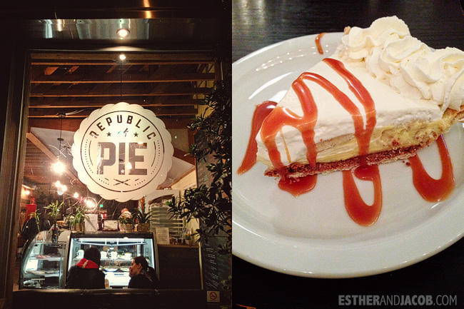 Eating LA. What we ate in may. republic of pie. Eating LA.