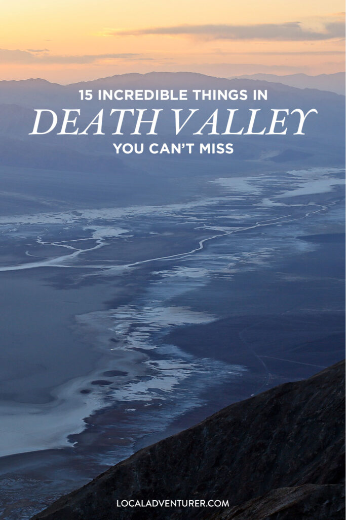What to Do in Death Valley