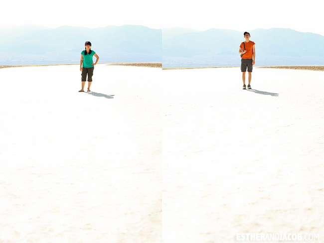 Photos of Badwater Basin.