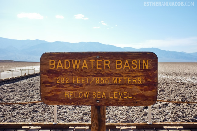 Badwater Basin. Death Valley Pictures.