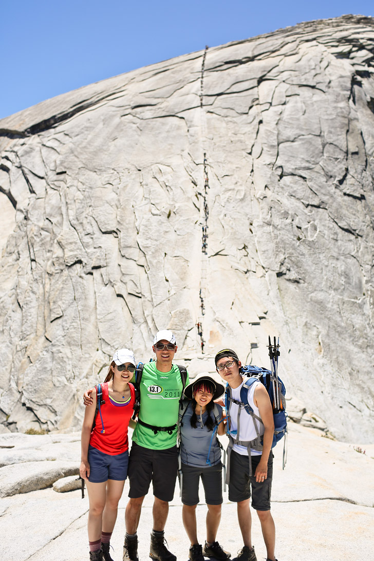 Half Dome Yosemite Hike Finished! // localadventurer.com