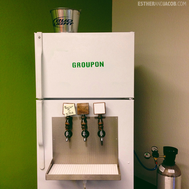 la to san francisco road trip. groupon kegerator