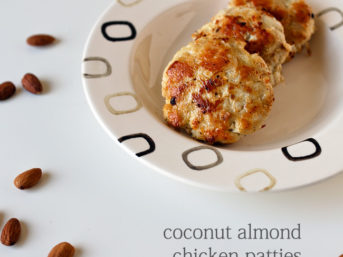 Paleo Recipe. coconut almond chicken patties recipe. paleo sauce recipe. paleo diet recipes. paleo recipes. paleo chicken recipe. paleo dinner recipes.