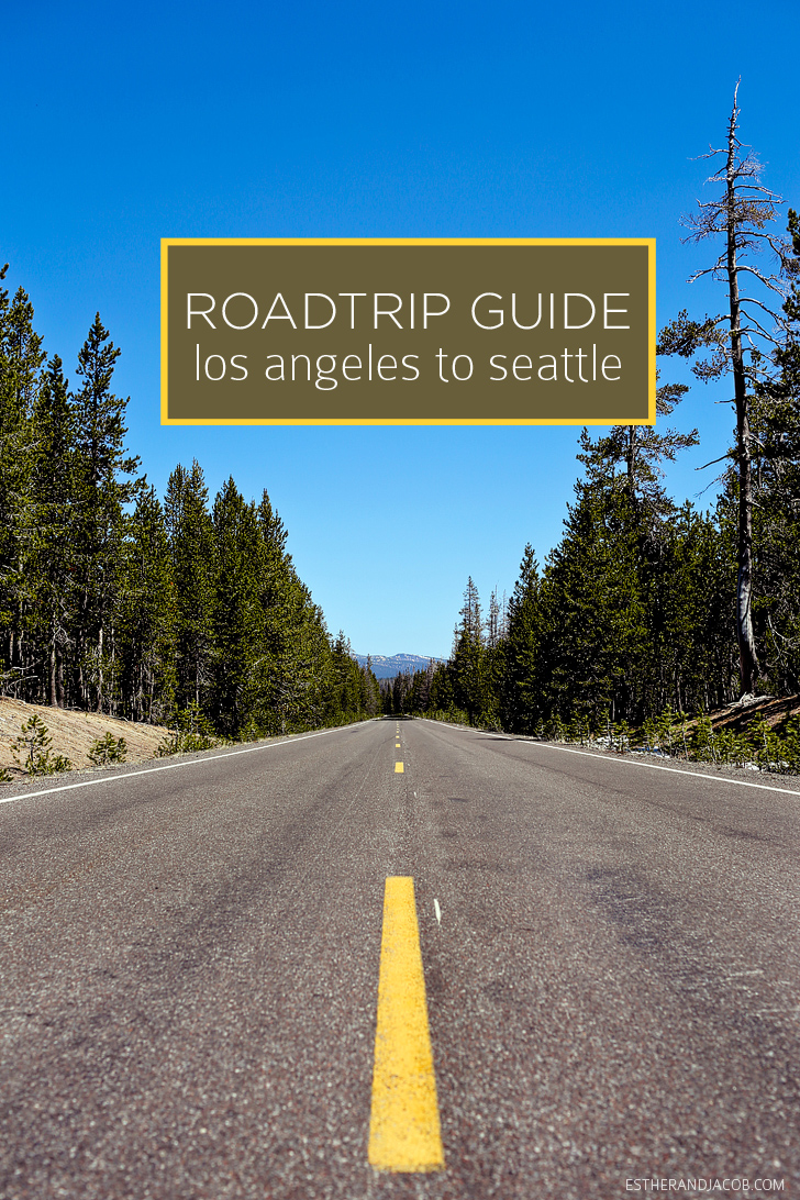 Road Trip USA | Travel guide for a road trip from Los Angeles to Seattle.