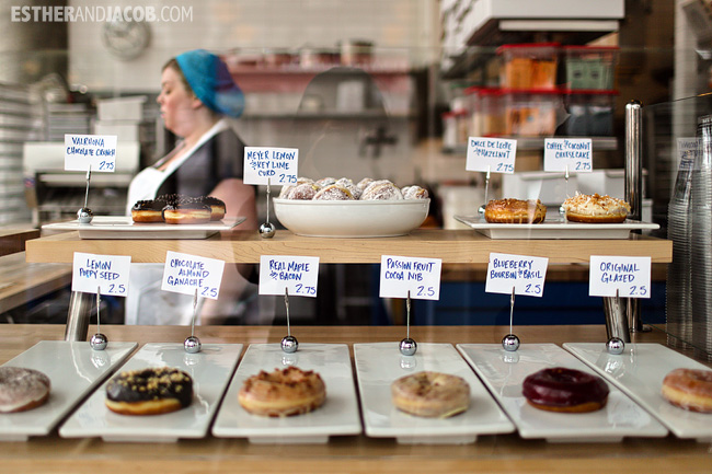 Road Trip America | Stopping at Blue Star Donuts in Portland on our Road trip from los angeles to seattle.