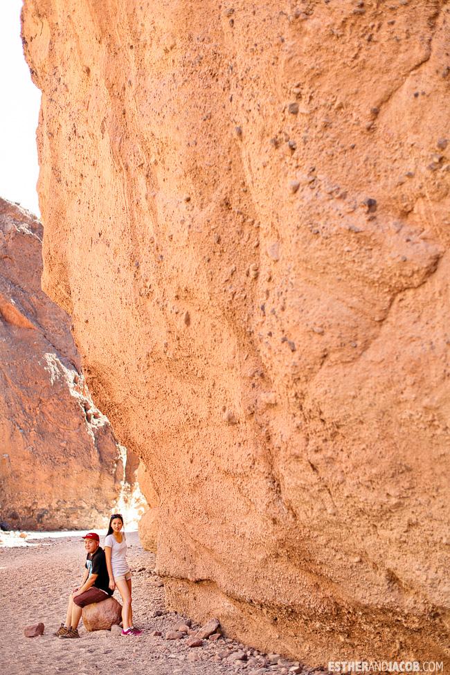 Death Valley National Park. Death Valley Pictures. Natural Bridge