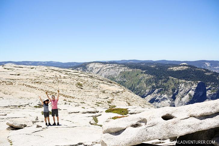 Half Dome Hike Tips + How to Get Half Dome Permits // localadventurer.com