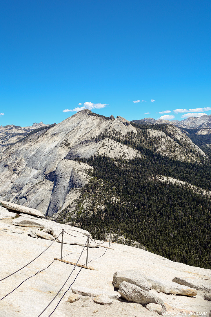 Hiking Half Dome Yosemite National Park CA // localadventurer.com