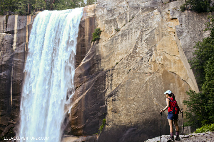 Vernal Falls Hike Yosemite National Park California // localadventurer.com
