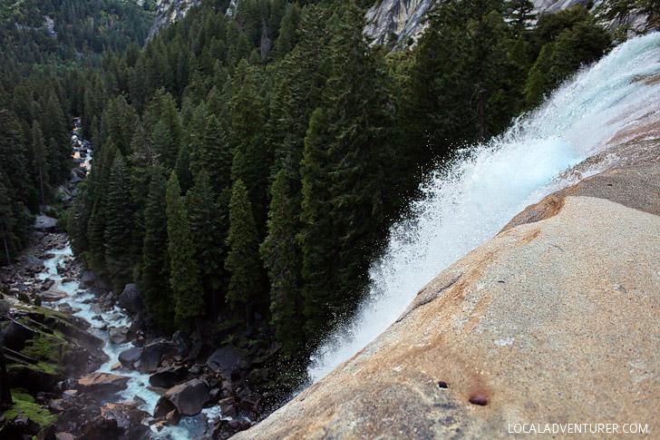 Vernal Falls Hike Yosemite National Park CA // localadventurer.com