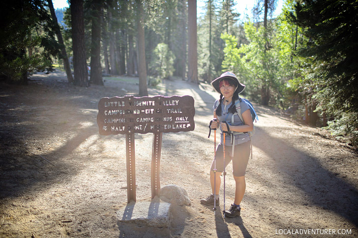Hiking in Yosemite National Park // localadventurer.com
