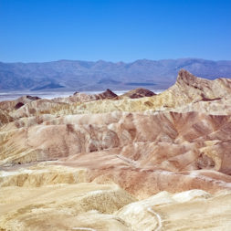 Best Sunset View at Death Valley Zabriskie Point
