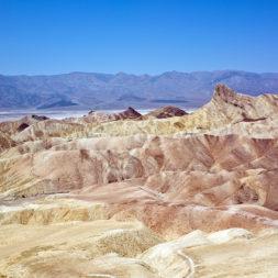 Best Sunset View at Death Valley Zabriskie Point