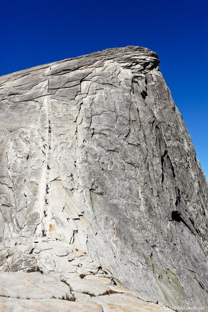 Yosemite National Park Half Dome Cable Route // localadventurer.com
