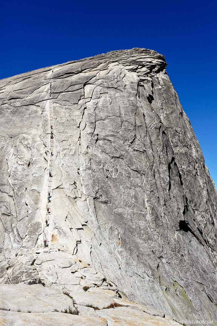 Yosemite National Park Half Dome Cable Route // localadventurer.com
