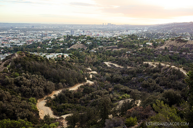 sunset at griffith observatory la. view from griffith observatory pictures. observatory griffith. things to do in la.