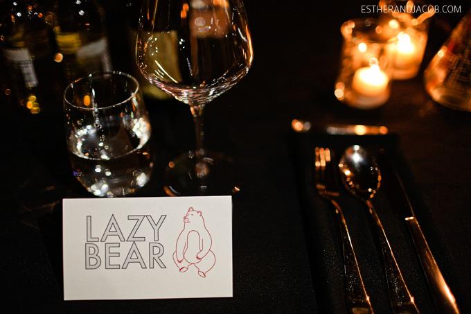 lazy bear sf. san francisco fine dining. best restaurants in sf. san francisco dining. best sf restaurants. underground dining. the lazy bear.