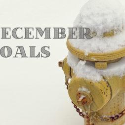 10 Monthly Goals for December