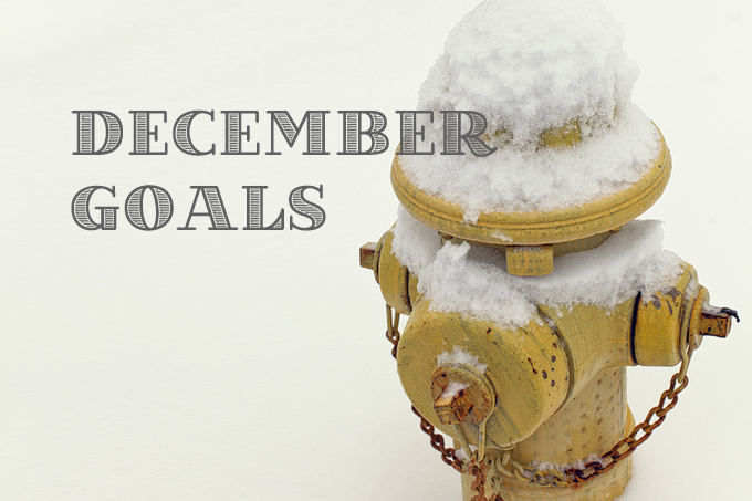 10 Monthly Goals for December