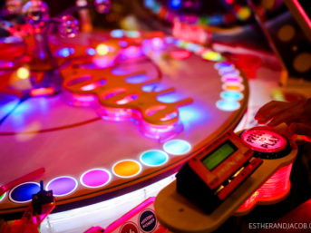 Dave and Busters Atlanta. 52 dates and 52 date ideas for couples. fun dating ideas, creative date ideas.