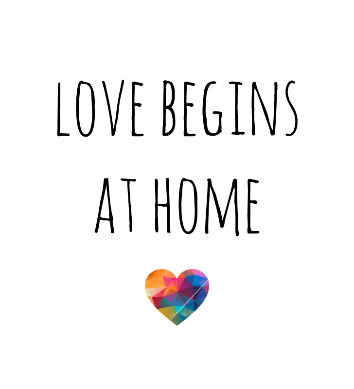 Love begins at Home. Mother Teresa Quotes.