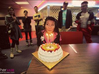 80's rollerskating themed birthday