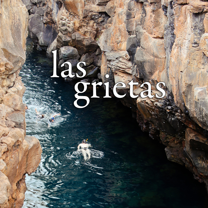 Cliff Jumping at Las Grietas Santa Cruz Galapagos Islands