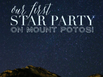 Our very first Star Party on Mount Potosi Las Vegas!