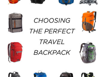 Choosing a backpack perfect for traveling with a dslr camera and laptop.